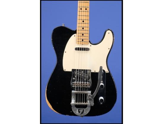 1982 Fender MIJ Telecaster Top Loading w/ Bigsby - Black