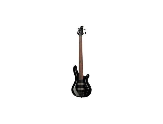 Harley Benton B-550FL 5-string Fretless Bass Guitar