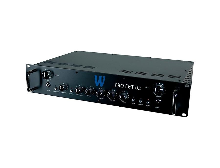 Warwick profet 5 1 500w bass amp head xl