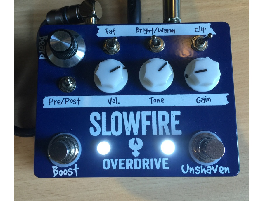 Fastback Slowdrive Overdrive Pedal