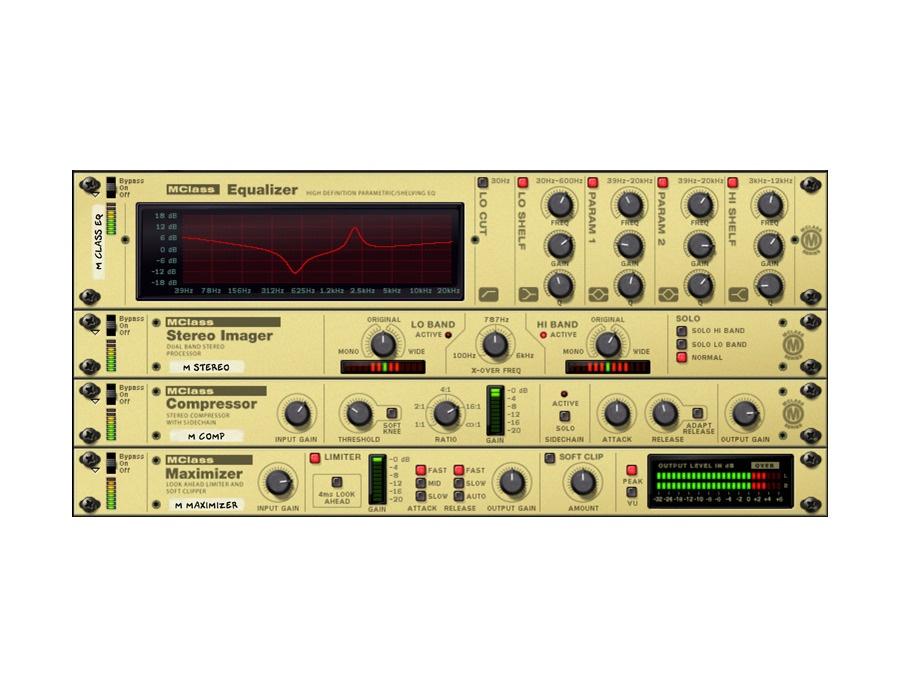 Propellerhead reason mclass mastering suite xl