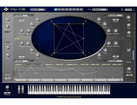 Virsyn Cube Virtual Synthesizer