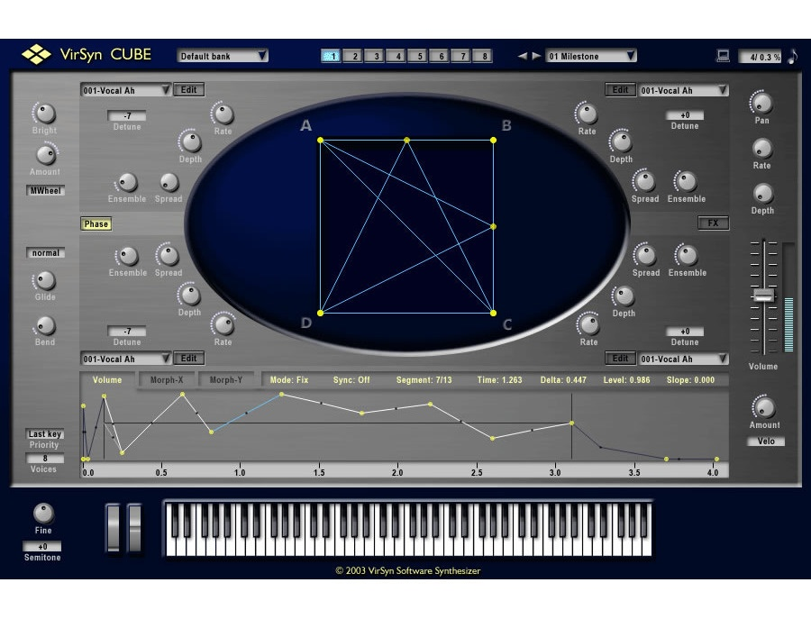 Virsyn Cube Virtual Synthesizer