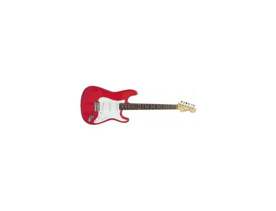 2011 Benson Stratocaster Fiesta Red