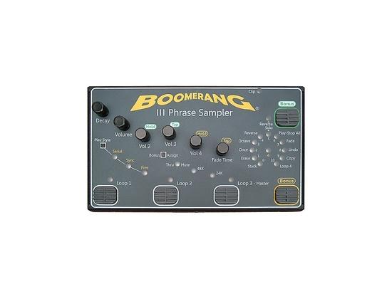 Boomerang III Phrase Sampler