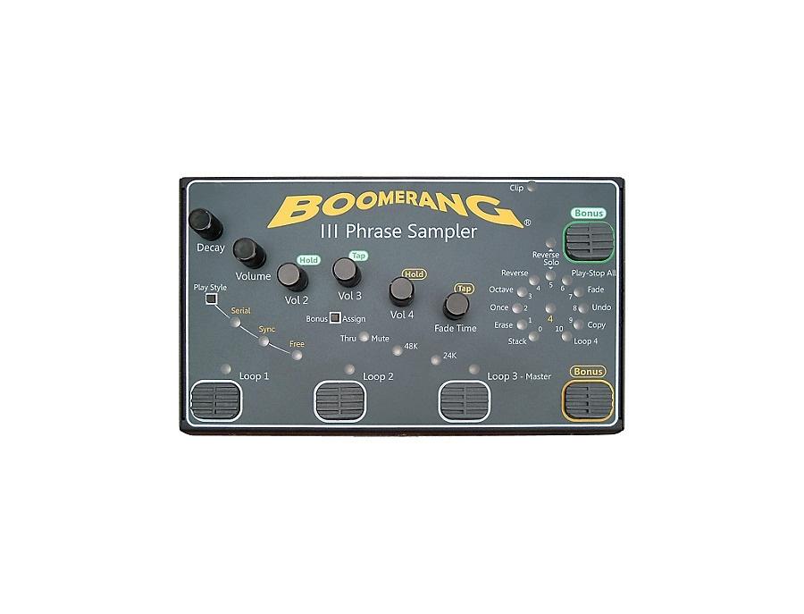 Boomerang iii phrase sampler xl