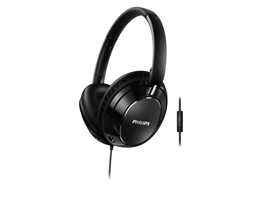 Philips FX5MBK Headphones
