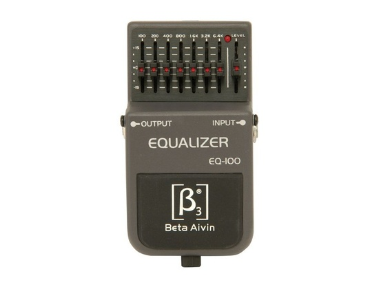 Beta Aivin EQ-100 Equalizer Pedal