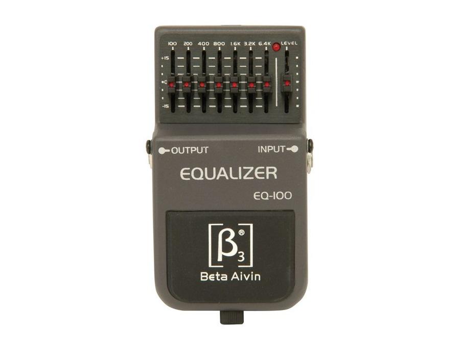 Beta Aivin EQ-100 Equalizer Pedal