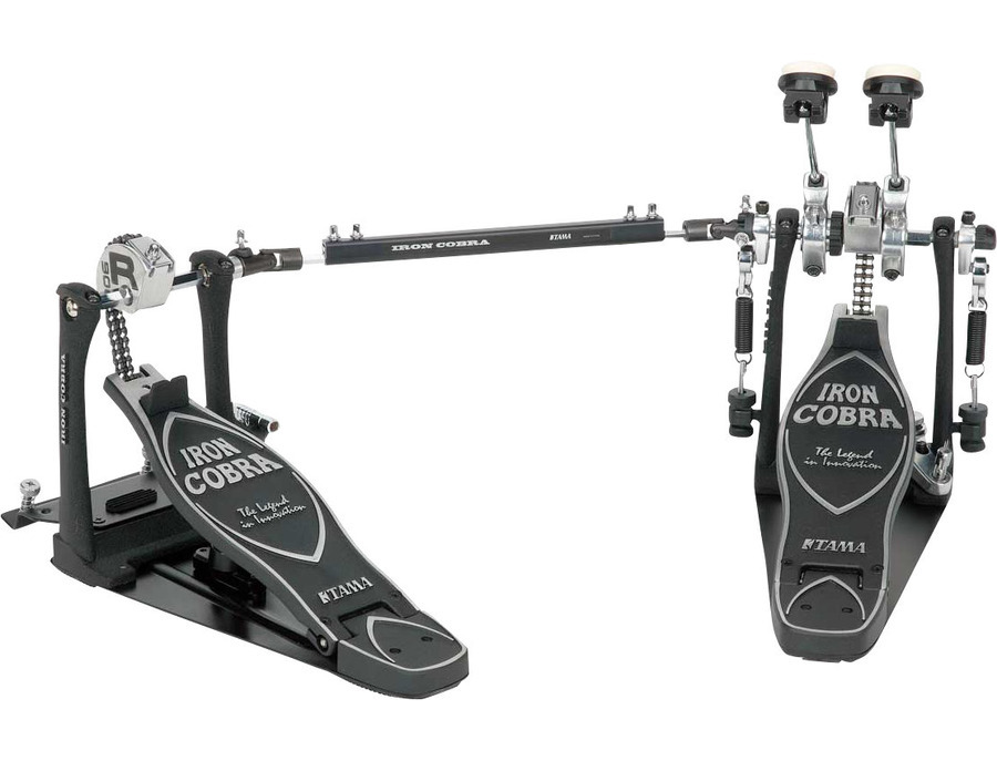 Tama iron cobra rolling glide double bass drum pedal xl