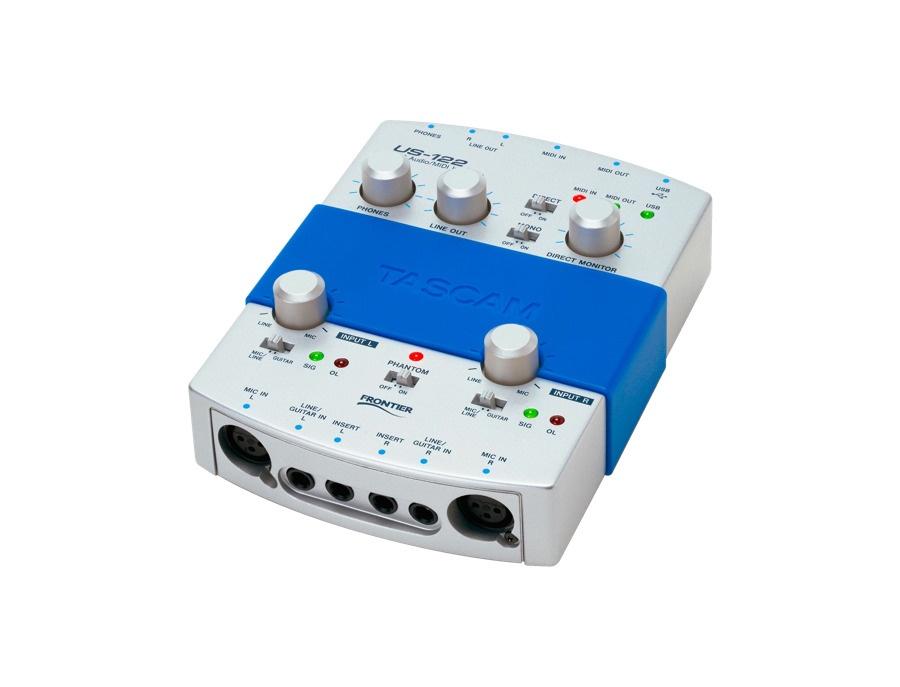 Tascam us 122 audio interface xl