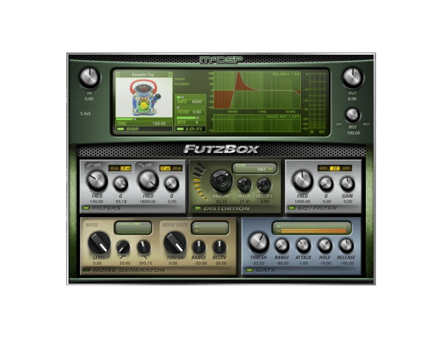 Mcdsp futzbox xl