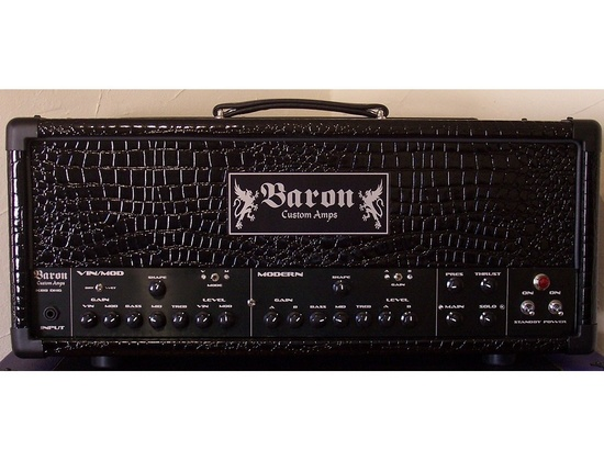 Baron Custom Amps DHG 120 Watt Amp Head