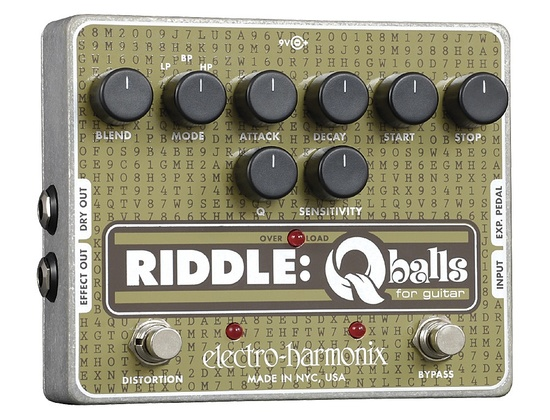 Electro-Harmonix Riddle - Envelope Filter for Guitar