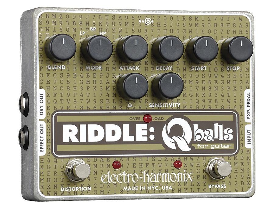 Electro-Harmonix Riddle - Envelope Filter for Guitar