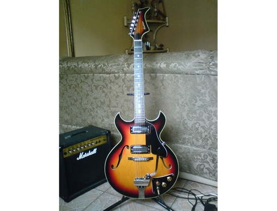 Ibanez Maxitone 1960's Semi-Hollow