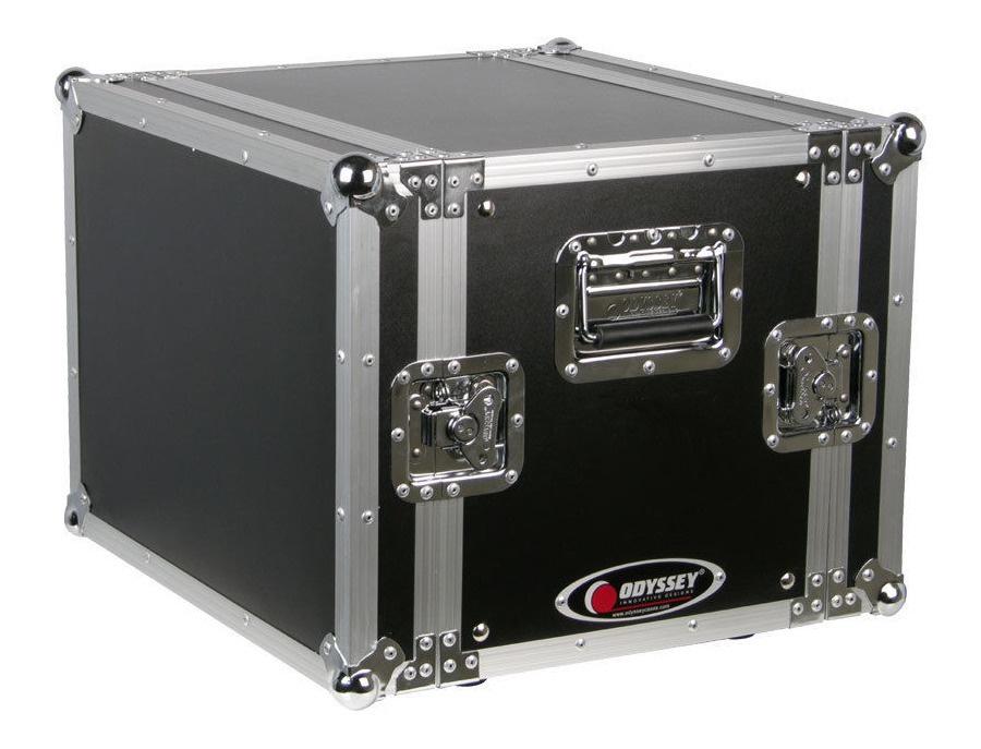 Odyssey Cases FRER8 New Flight Ready 8U Rackmount DJ Special Effects Rack Case