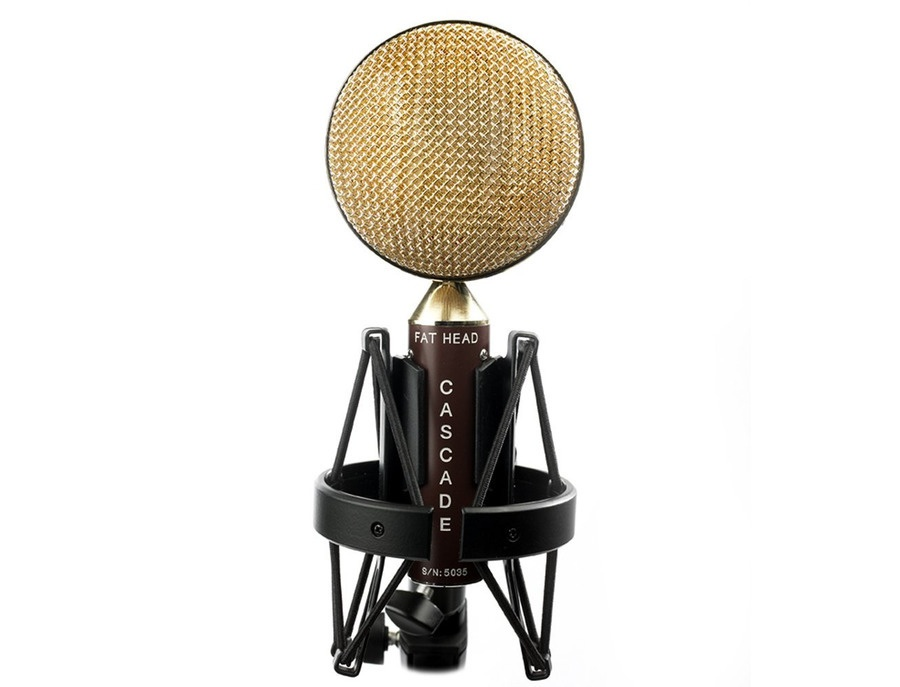 Cascade Fat Head Ribbon Microphone