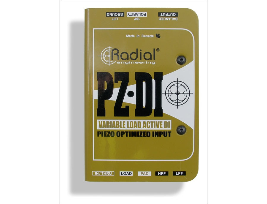 Radial PZ-DI Orchestral Acoustic Direct Box