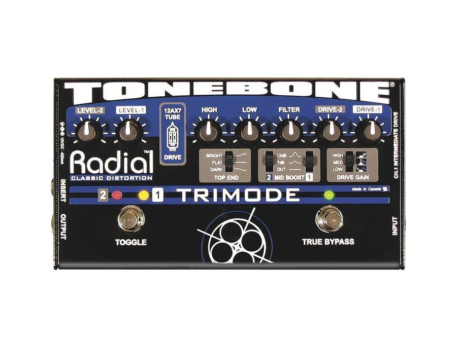 Radial Tonebone Trimode Tube Distortion/Overdrive Pedal