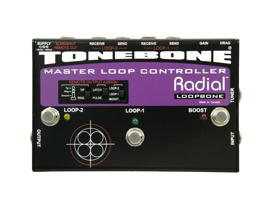 Radial tonebone loopbone loop controller xl