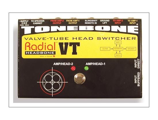 Radial Tonebone Headbone VT Amp Head Switcher
