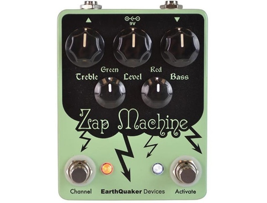 Earthquaker Devices Zap Machine Fuzz/Boost/Drive