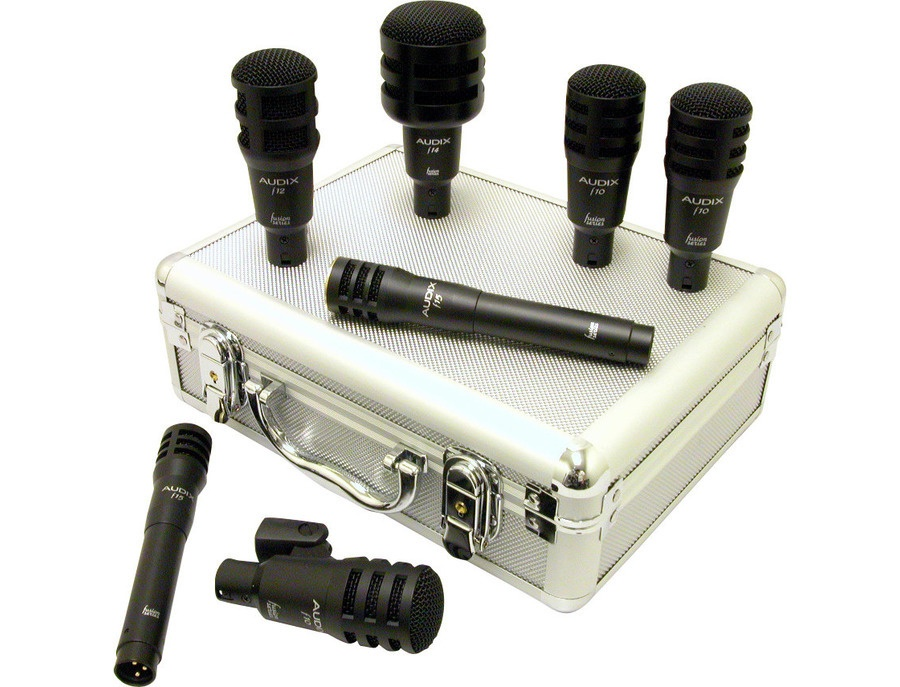 Audix fusion 7 piece drum mic set