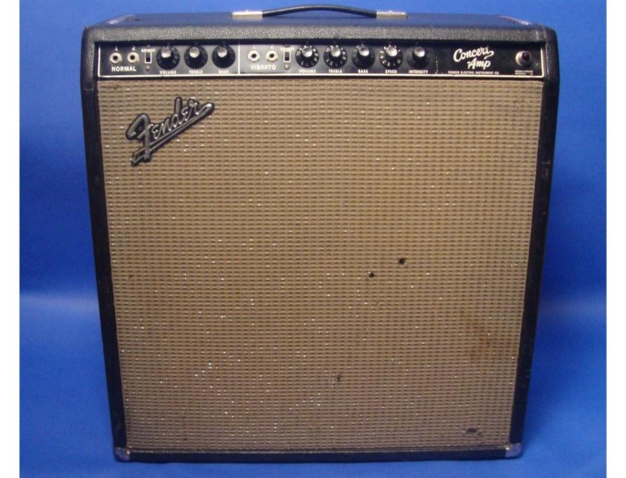 Fender Concert Blackface Combo Amplifier