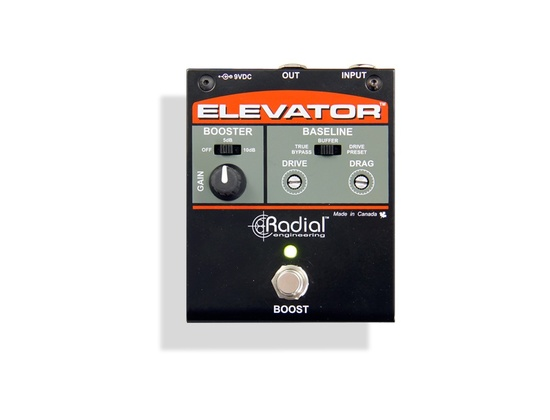 Radial Tonebone Elevator Multi-Level Booster