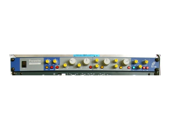 Foucsrite ISA 110 Microphone Preamp and EQ