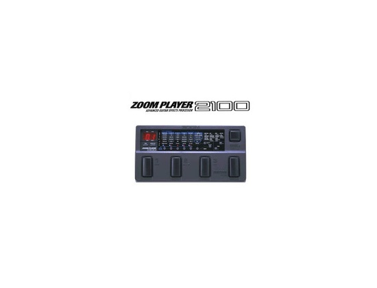 Zoom Player 2100 multi-effects pedal