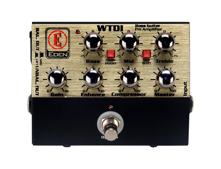 Eden WTDI World Tour Direct Box and Bass Preamp
