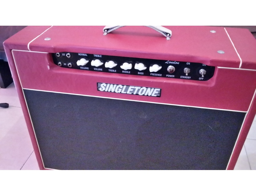 Singletone London amp 50watts 2x12