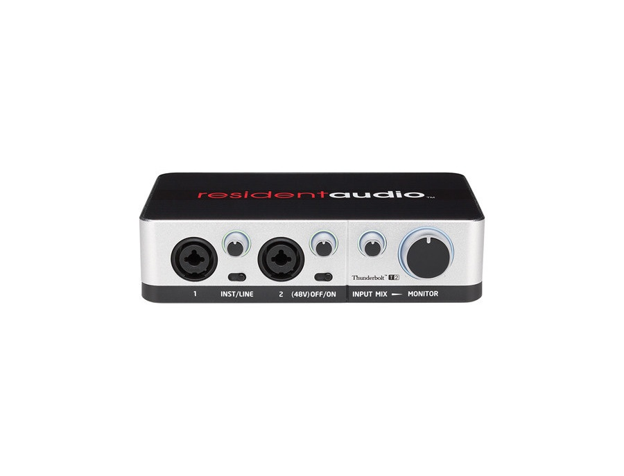 Resident Audio T2 2-Channel Thunderbolt Interface