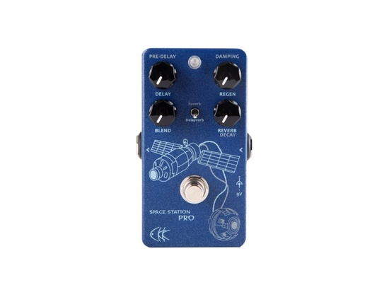 CKK Electronic Space Station Delay/Reverb Pedal