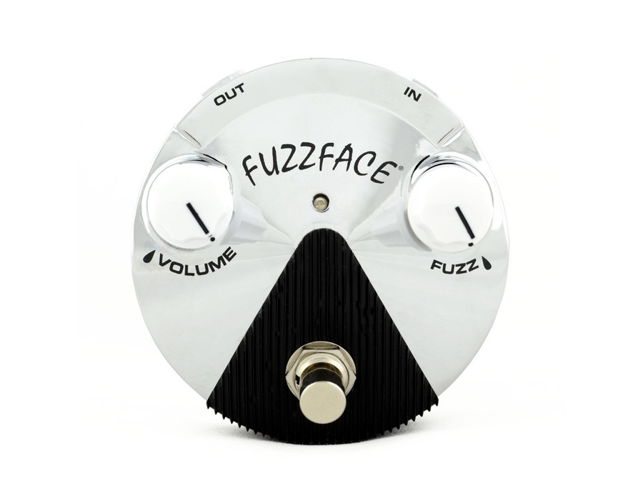 Dunlop Band Of Gypsy's Fuzz Face Mini Chrome Limited