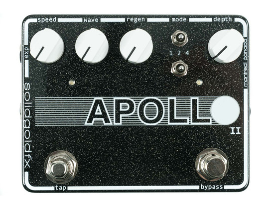 SolidGoldFX Apollo II Multi-Wave Tap Phaser