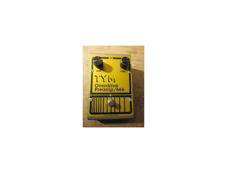 Tym Overdrive Preamp/666 Overdrive