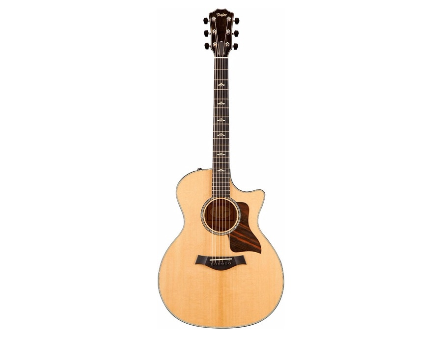 Taylor 600 Series 2015 614ce Cutaway Grand Auditorium Acoustic-Electric Guitar Natural