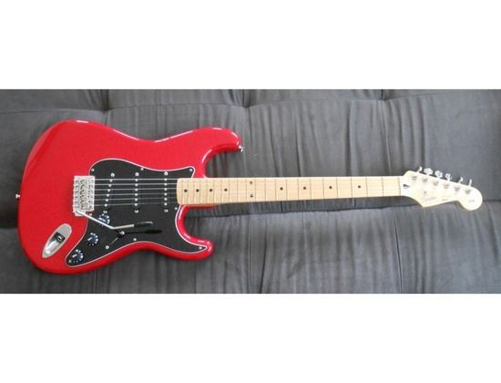 Squier Stratocaster Silver Series