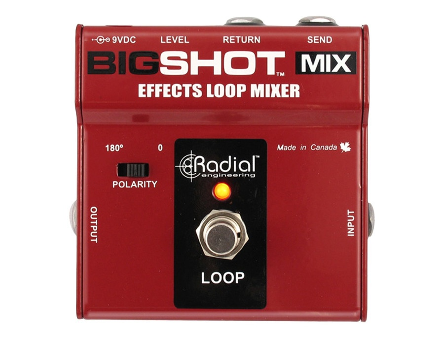 Radial bigshot mix wet dry effects loop xl