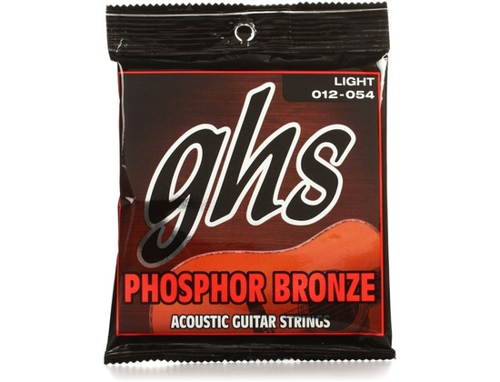 GHS PHOSPHOR BRONZE 6-STRING - Light