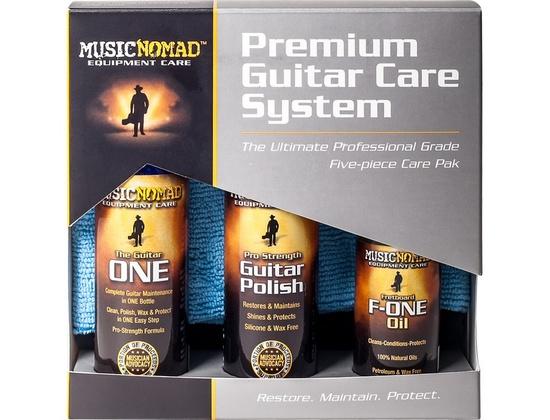 Music Nomad Premuim Guitar Care System