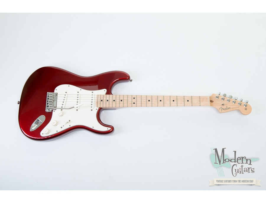 2007 USA FENDER STRATOCASTER AMERICAN STANDARD CANDY COLA RED METALLIC