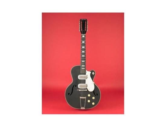12 Silvertone Danelectro Acoustic Electric Guitar