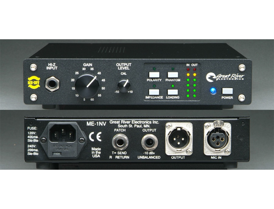 Great River ME-1NV MIC PREAMP