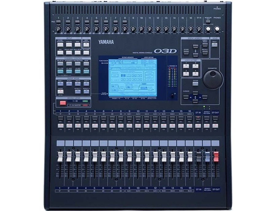 Yamaha 03d digital mixer xl