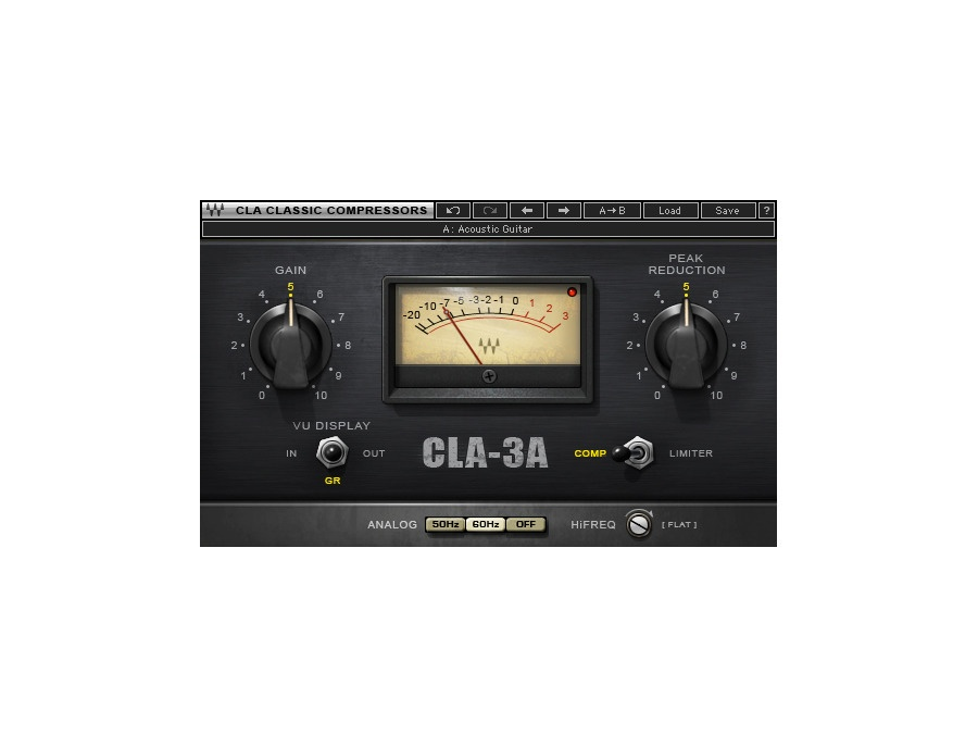 Waves CLA-3A Compressor/Limiter Plugin