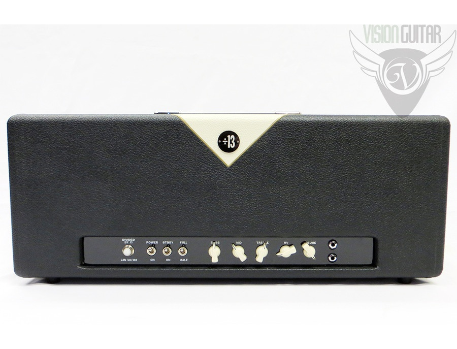 Divided By 13 JJN 50/100 Amplifier Head
